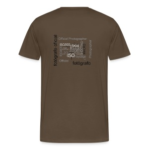 Official Photographer - T-shirt Premium Homme