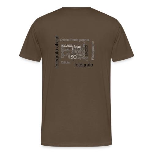 Official Photographer - Men's Premium T-Shirt
