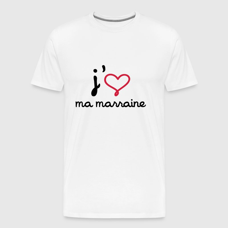 tee shirt j 39 aime ma marraine spreadshirt. Black Bedroom Furniture Sets. Home Design Ideas