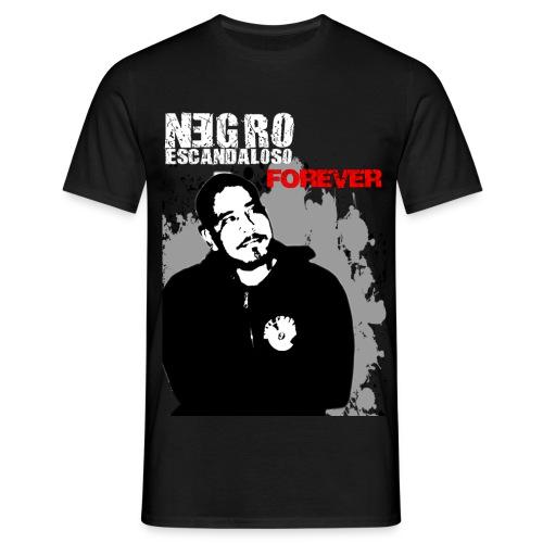 negro black 2 - T-shirt herr