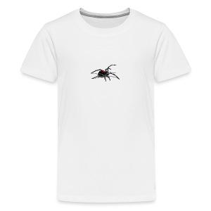 Schwarze Witwe Angriff Kinder T-Shirt  - Teenager Premium T-Shirt