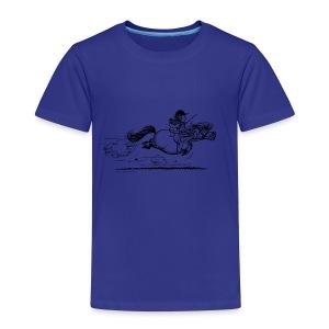 PonySprint Thelwell Cartoon - Kids' Premium T-Shirt
