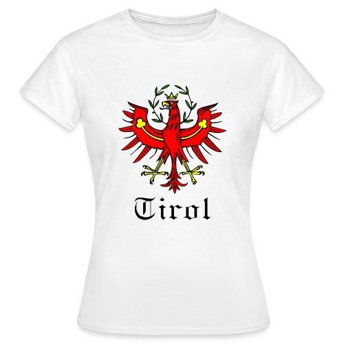 T-Shirt Tirol mit Adler DAMEN weiss - Frauen T-Shirt