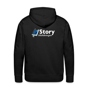 Storyloggan - Premiumluvtröja herr