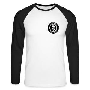 Sibbo - Sipoo pitkähihainen pääkallopaita - Men's Long Sleeve Baseball T-Shirt