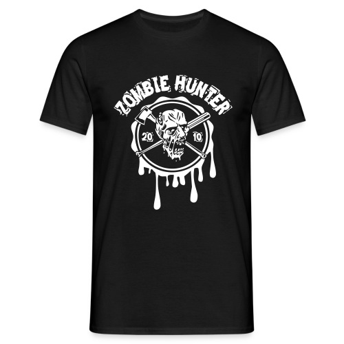 Zombie Hunter 2010 - Männer T-Shirt