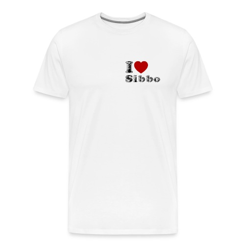 I love Sibbo - Men's Premium T-Shirt