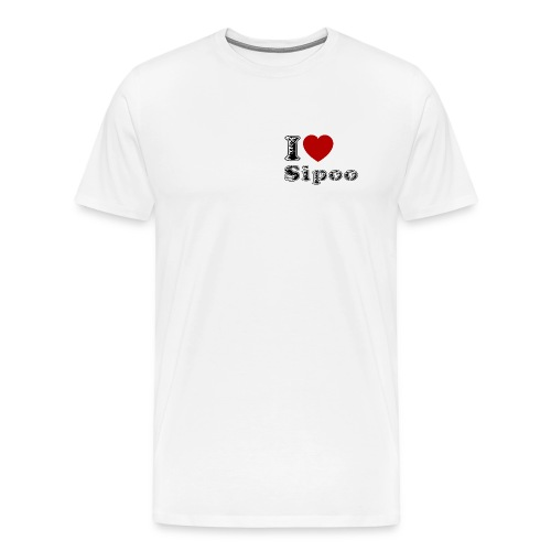 I love Sipoo - Men's Premium T-Shirt