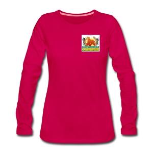 women's long sleeve shirt - Women's Premium Longsleeve Shirt