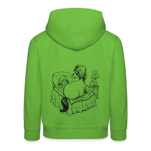 PonyBed Thelwell Cartoon - Kids' Premium Hoodie