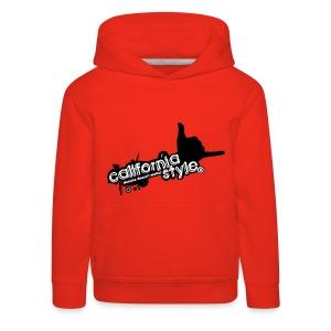 Felpa California Style - Bambino - Felpa con cappuccio Premium per bambini