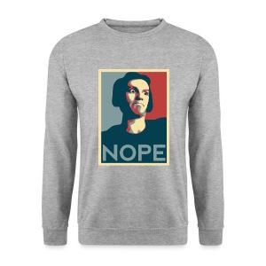 Sweatshirt NOPE - Sweat-shirt Homme