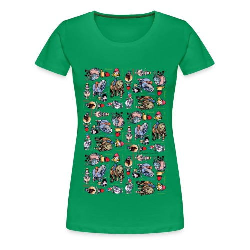 PonyCartoons Thelwell Cartoon - Women's Premium T-Shirt