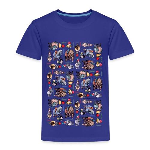 PonyCartoons Thelwell Cartoon - Kids' Premium T-Shirt