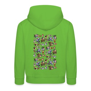 PonyCartoons Thelwell Cartoon - Kids' Premium Hoodie
