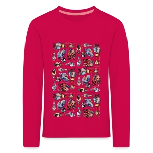 PonyCartoons Thelwell Cartoon - Kids' Premium Longsleeve Shirt