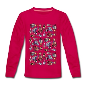 PonyCartoons Thelwell Cartoon - Teenagers' Premium Longsleeve Shirt