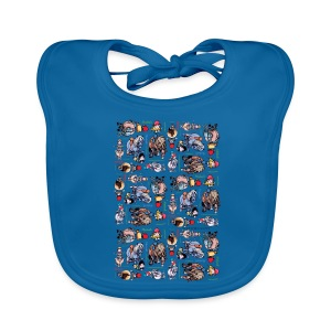 PonyCartoons Thelwell Cartoon - Baby Organic Bib