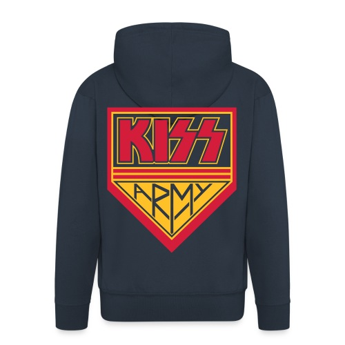 KISS Army - Men's Premium Hooded Jacket