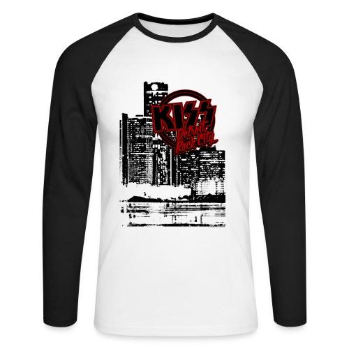 Detroit Rock City - Men's Long Sleeve Baseball T-Shirt