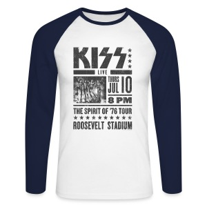 LIVE at the Roosevelt Stadium - Men's Long Sleeve Baseball T-Shirt