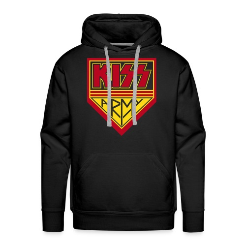 KISS Army (flock) - Men's Premium Hoodie