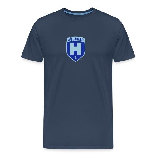 Höjdare med 1 totalseger - Premium-T-shirt herr