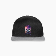 Pink / Purple Universe - Space - Galaxy Skull Caps & Hats