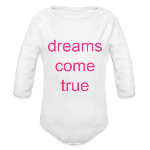 body- dreams come true (baby) - Ekologisk långärmad babybody