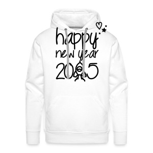 Happy new year 2015 Pullover & Hoodies - Männer Premium Hoodie