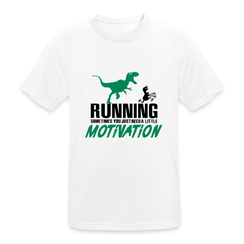 Running motivation - T-shirt respirant Homme