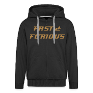 Hoodies & Sweatshirts ~ Men's Premium Hooded Jacket ~  Sweat a capuche FAST & FURIOUS 7, swagg unique