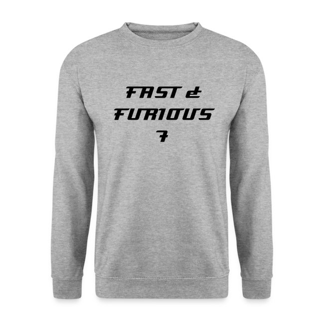 Sweat FAST & FURIOUS 7, swagg unique