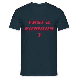 T-shirt FAST & FURIOUS 7 - Men's T-Shirt