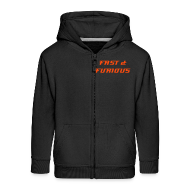 Hoodies ~ Kids' Premium Zip Hoodie ~  Sweat a capuche et fermeture eclair FAST & FURIOUS