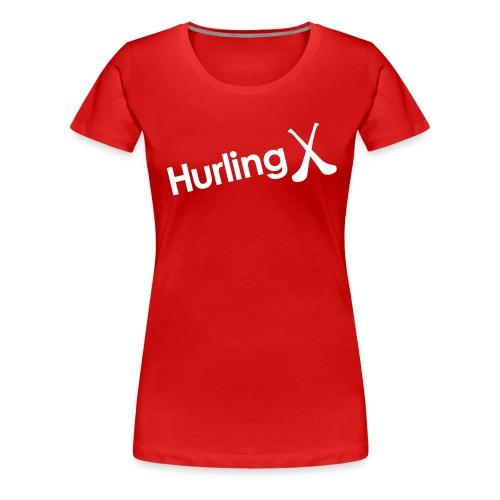 Hurling - Women's Premium T-Shirt