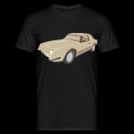 T-skjorter ~ T-skjorte for menn ~ Gold Studebaker Avanti illustration