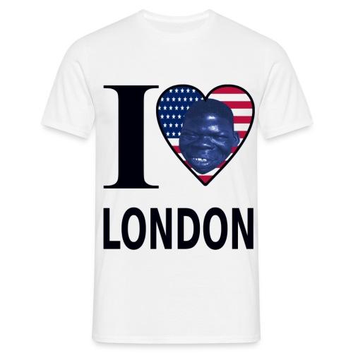I♥ LONDON USA - Männer T-Shirt