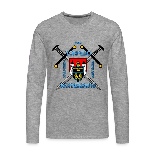 Torpedo Schwert LangarmShirt - Männer Premium Langarmshirt