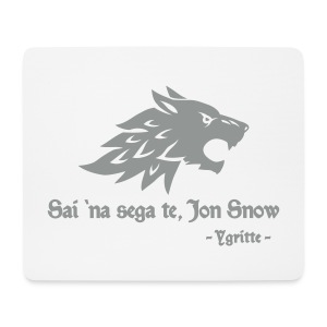Tu non sai niente... - mousepad Game of Thrones - Mouse Pad (horizontal)