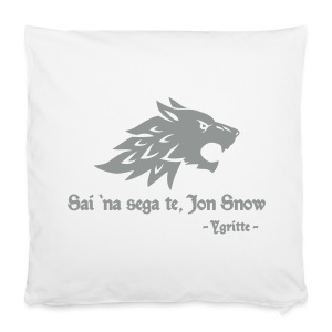 Tu non sai niente... - copricuscino Game of Thrones - Pillowcase 40 x 40 cm