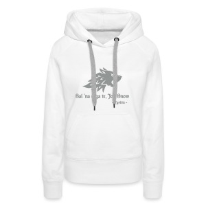 Tu non sai niente... - felpa donna Game of Thrones - Women's Premium Hoodie