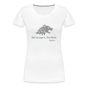 Tu non sai niente... - maglietta donna Game of Thrones - Women's Premium T-Shirt