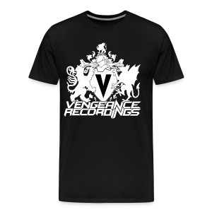 Vengeance Recordings white logo - Men's Premium T-Shirt