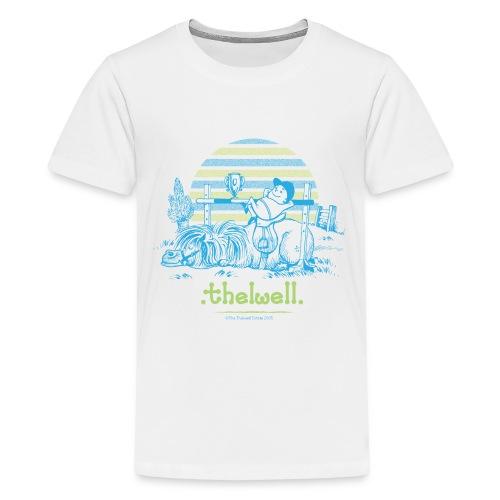 PonyVictory Thelwell Cartoon - Teenage Premium T-Shirt
