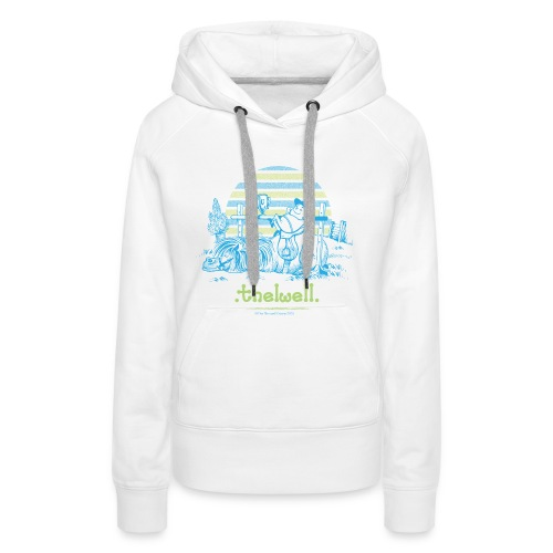 PonyVictory Thelwell Cartoon - Women's Premium Hoodie