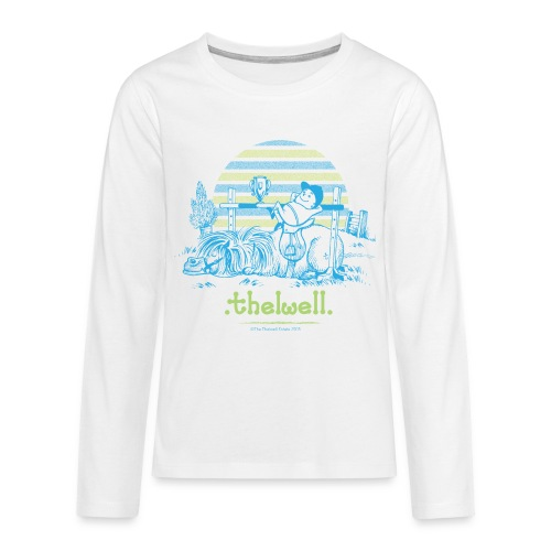 PonyVictory Thelwell Cartoon - Teenagers' Premium Longsleeve Shirt