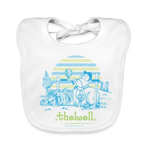 Baby Bio-Lätzchen - Lustiger Thelwell Cartoon aus der offiziellen Kollektion 'The Thelwell Estate 2015'