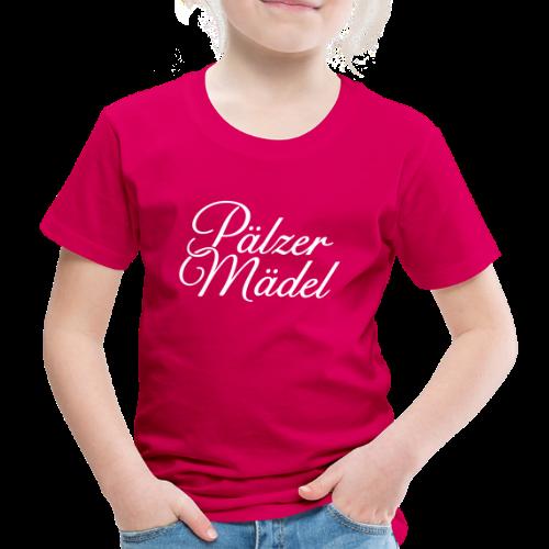 Pälzer Mädel Kinder T-Shirt (Pink/Weiß) - Kinder Premium T-Shirt