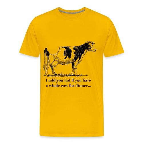 whole cow - Men's Premium T-Shirt